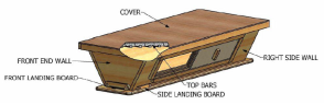 Standard Top Bar Hive design